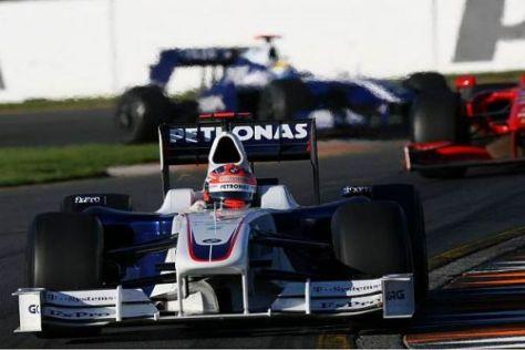 Robert Kubica wollte sich nicht nur Vettel, sondern auch Button schnappen