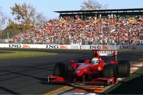 Felipe Massa musste mit einem technischen Defekt aufgeben