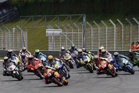 Um Kosten zu sparen, wurde das Reglement der MotoGP weiter geändert