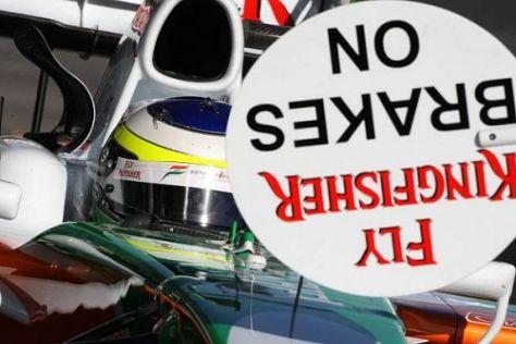 Hatte vor allem beim Boxenstopp große Probleme: Giancarlo Fisichella