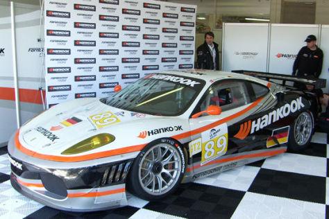 Le Mans Series 2009, Farnbacher mit Hankook