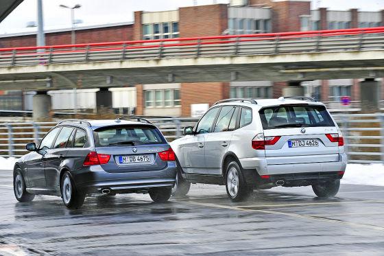 BMW 320 d X-Drive Touring BMW X3 2.0 d X-Drive