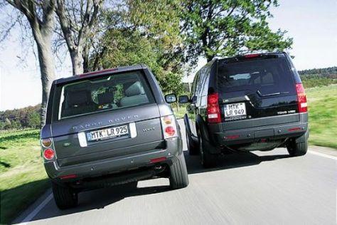 Rückruf Discovery/ Range Rover Sport