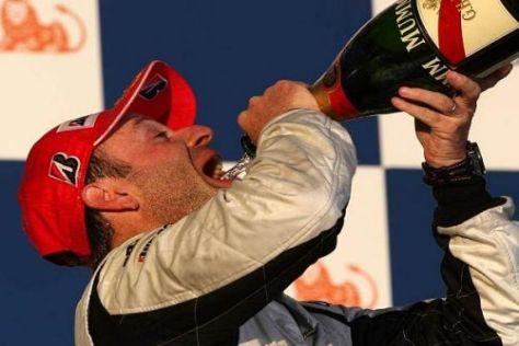 Rubens Barrichello möchte sich auch in Sepang Champagner genehmigen