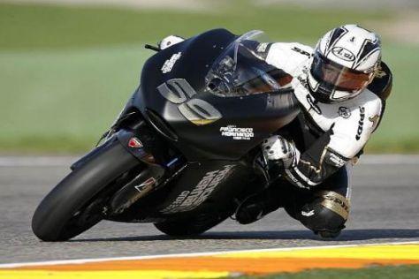 Sete Gibernau hat sich an die Kunden-Ducati GP9 schon gut gewöhnt