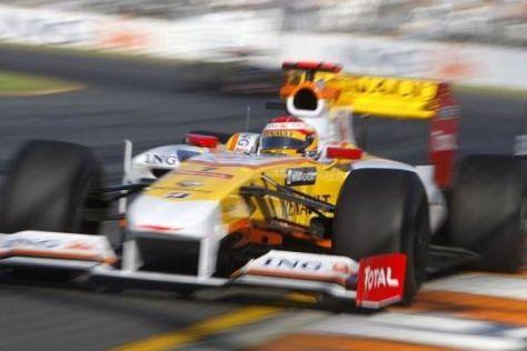 Fernando Alonso will beim Grand Prix oin Malaysia weitere Punkte sammeln