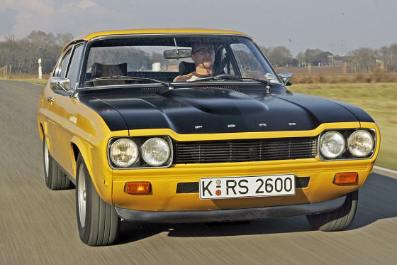 40 jahre ford capri auto bild klassik. Black Bedroom Furniture Sets. Home Design Ideas