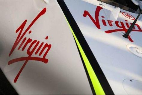 Die Virgin-Logos auf den Brawn-Autos werden bis 2010 noch deutlich größer