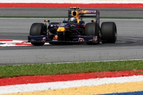 Sebastian Vettel fährt auch in Malaysia vorn mit