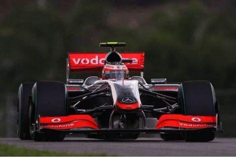 Heikki Kovalainen empfand das Auto als zu nervös, wenn er richtig Druck machte
