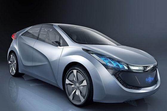 Hyundai-Studie Blue-Will: Vision eines Plug-In-Hybriden.