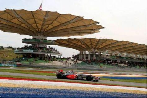 Lewis Hamilton und Heikki Kovalainen lagen im Qualifying dicht beisammen
