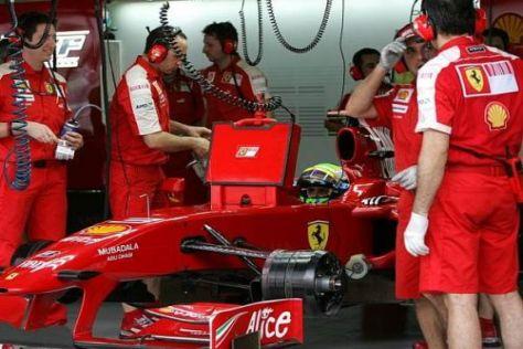 Ferrari verzockte sich mit Massa, der im ersten Teil nach hinten gereicht wurde
