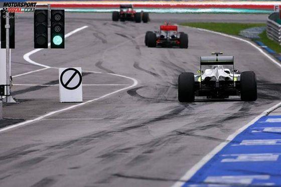 Jenson Button sichert sich auch den zweiten Sieg der Saison