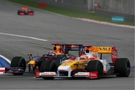 Mark Webber arbeitete sich Runde für Runde nach vorn