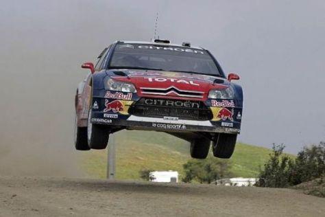 Der Überflieger: Sébastien Loeb setzte seine Siegesserie in Portugal fort