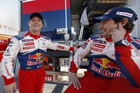 Weiter unschlagbar: Sébastien Loeb und Daniel Elena haben einen neuen Rekord