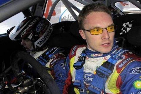 Jari-Matti Latvala musste erneut einen schweren Rückschlag hinnehmen