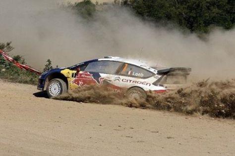 Sébastien Loeb konnte seinen Vorsprung in Portugal leicht ausbauen