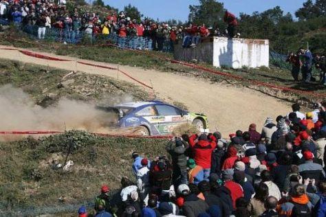 Die portugiesischen Fans sind berühmt für ihre Rallye-Begeisterung