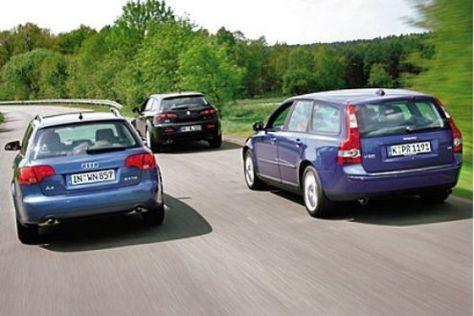 Drei Diesel-Kombis im Test