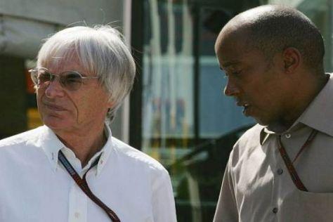 Bernie Ecclestone versteht den Ärger von Managervater Anthony Hamilton