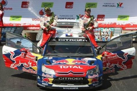 Gewohntes Bild, anderer Ort: Sébastien Loeb und Daniel Elena in Portugal