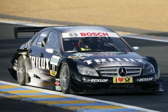 DTM 2009, Ralf Schumacher AMG.Mercedes-C-Klasse Baujahr 2009