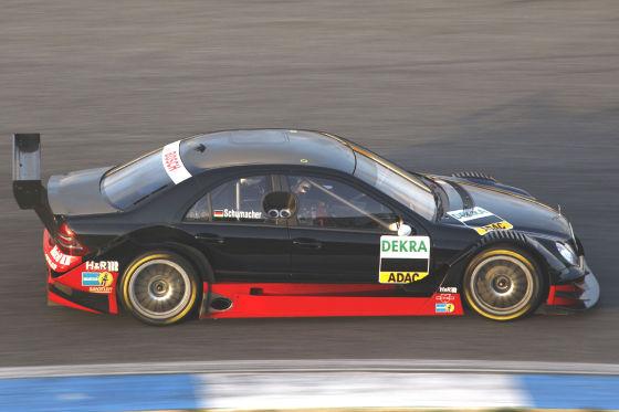DTM 2009, Ralf Schumacher DTM-C-Klasse-Mercedes Baujahr 2007
