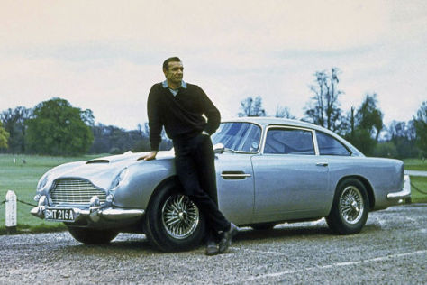 James Bond Goldfinger Aston Martin DB5