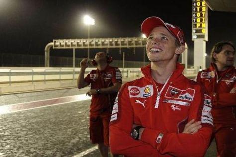 Siege 2007 und 2008: Casey Stoner freut sich auf den Saisonauftakt in Katar