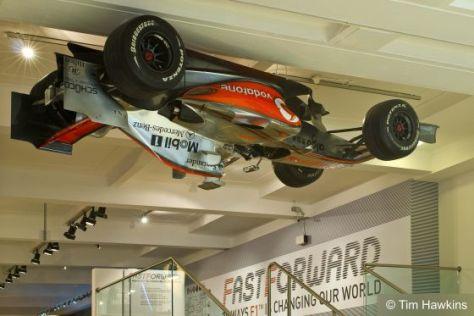 """Sonderausstellung """"Wunder der Formel 1"""" in London."""