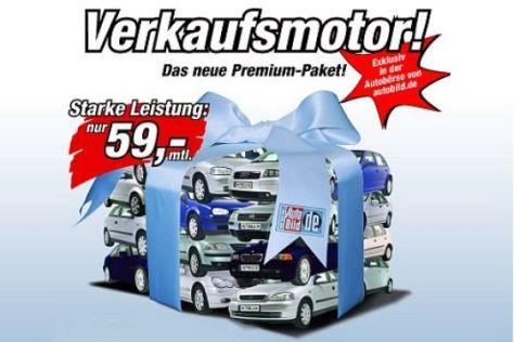 Premium-Paket für Autohändler
