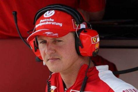 Michael Schumacher wird in China und in Bahrain nicht im Ferrari-Dress sein