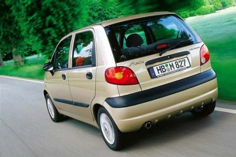 Rückruf Chevrolet/Daewoo Matiz