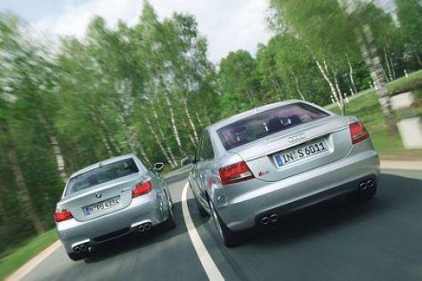 Test BMW M5 gegen Audi S6
