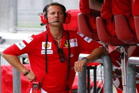 Michael Schumacher wird in China und Bahrain nicht als Ferrari-Berater tätig sein