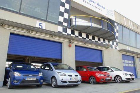 Vier starke Kleinwagen im Vergleich
