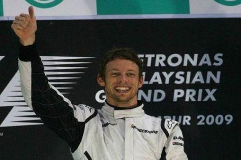 Jenson Button: Das ehemalige Greenhorn ist nun Tabellenführer in der Formel 1...