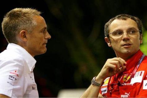 Martin Whitmarsh und Stefano Domenicali müssen sich derzeit hinten anstellen...