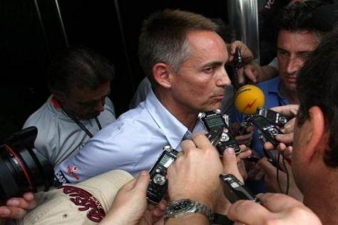 Rückt nun auch McLaren-Teamchef Martin Whitmarsh ins Licht der Untersuchungen?
