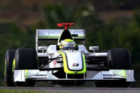 Jenson Button ist in der Formel-1-Saison 2009 bisher noch ungeschlagen
