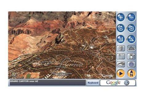 Online-Navigation in 3D