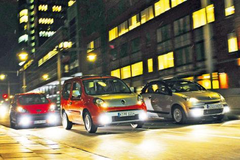 Renault Kangoo Be Bop Citroën Pluriel Peugeot 1007