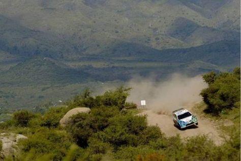 Matthew Wilson auf den berüchtigten Schotterpisten Argentiniens
