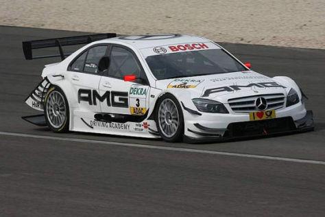 DTM-Tests Dijon 2009, Ralf Schumacher HWA Mercedes-C-Klasse