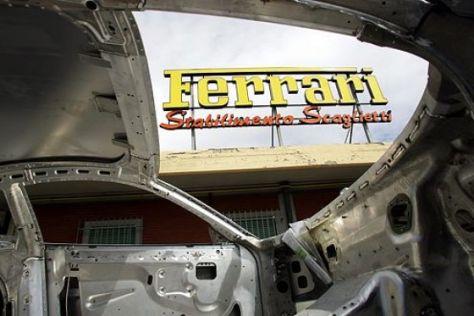 Werksbesuch bei Ferrari