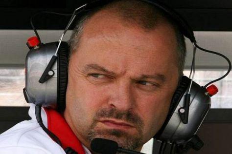 Mike Gascoyne sucht händeringend nach einem neuen Formel-1-Job