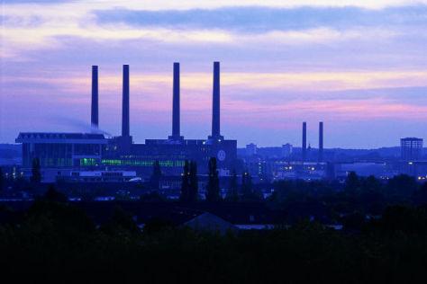 Hoffnung am Horizont: VW-Werk Wolfsburg