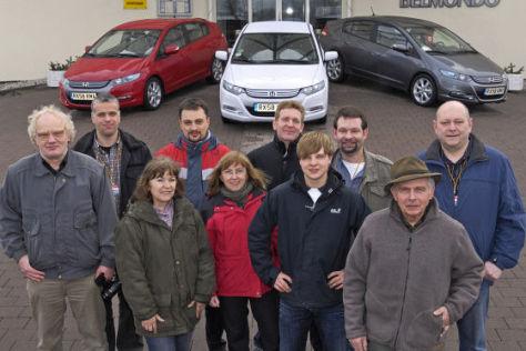 Verbrauchsfahrt mit dem Honda Insight
